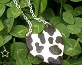 Cow Heart necklace - Wild Valentines...