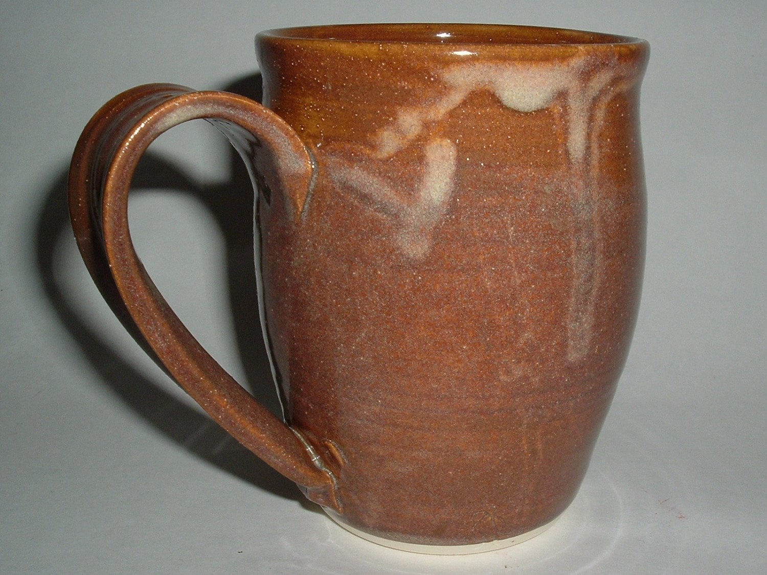 Unique coffee mug handmade stoneware pottery by lendseypottery Unique coffee cups mugs