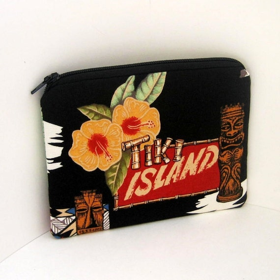 Zippered Pouch TIKI LOUNGE