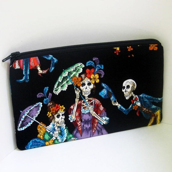 Zipper pouch Long DANCE of the DEAD