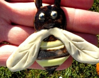 Bumble Bee  Pendant or Ornament