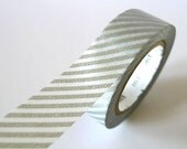 Thin SILVER STRIPE Washi Tape 15mm Japanese MT Masking Tape - PrettyTape