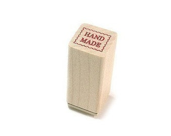 Cute Hand Made Stamp - Rubber Stamp for Handmade Projects