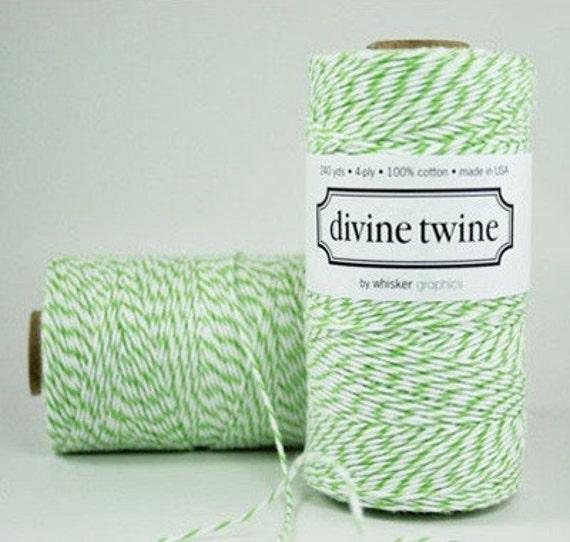 Green Bakers Twine Green Twine 240 Yards Divine Twine Green Wedding Decorations