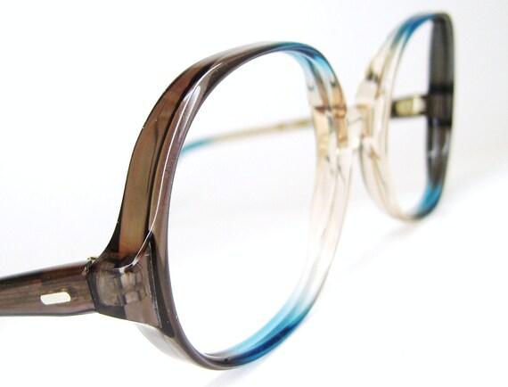 Vintage Big Lens Eyeglasses Eyewear Frame NOS