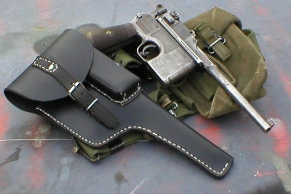 New C96 Mauser Broomhandle Holster Custom work USA  , Read Me - Steampunk