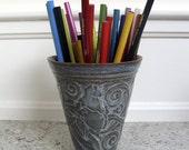 Porcelain conical tumbler vase