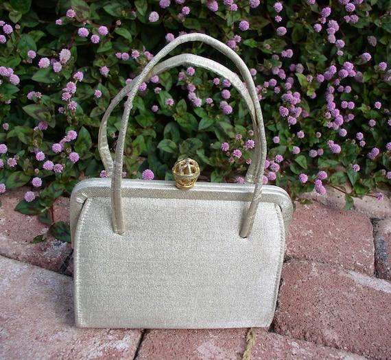 Vintage Handbag Gold Lame - Ideal brand