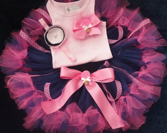Sugar and Spice Tutu Dress Outfit for Baby Girls Birthday Party