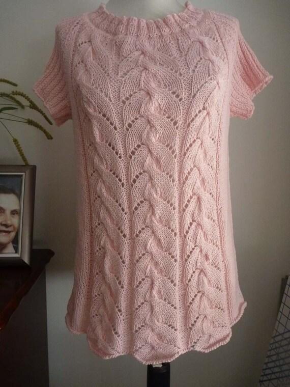 Pink cotton reglan shirt no.182