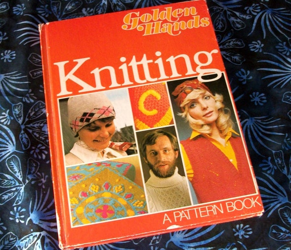 Vintage Knitting Book by Golden Hands A Pattern Book