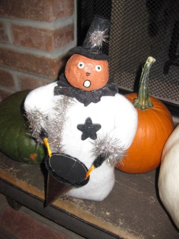 See COUPON CODE:   Halloween Pumpkin Head Figure
