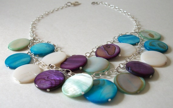 Layered Fresh Water Shell Necklace