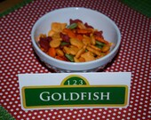 Sesame Street Custom Food Signs for any party table or occasion Made to fit your theme