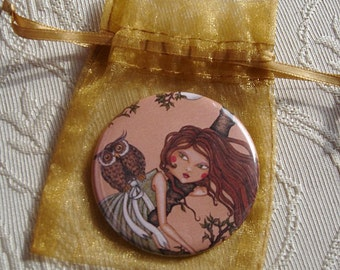Dreaming-pocket mirror 2.25 inch 5.6cm
