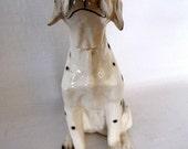 Vintage Dalmatian Dog Decanter Made in Japan