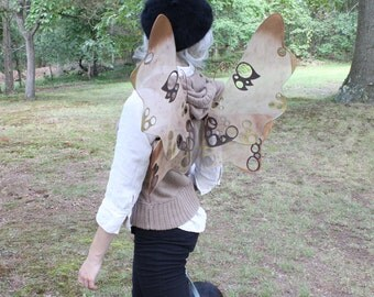 Steampunk Inspired Fairy Wings