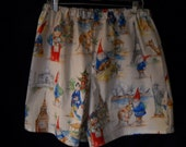 Gnome boxer shorts in men's size large