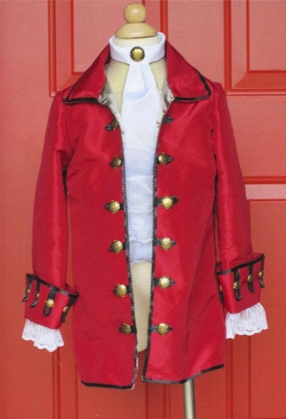 Captain Hook or Pirate coat
