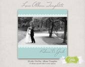Lace Photo Album Template - 20-side 10x10in. - Photoshop