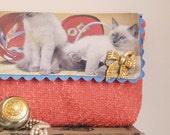 Posh Cats Limited Edition Clutch Bag