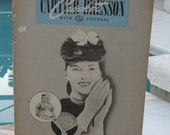 Cartier Bresson Cotton Thread Crochet Pattern Book 1947  Vintage Gloves and More
