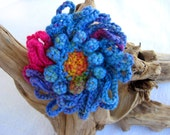Sea Flower Multicolor Brooch