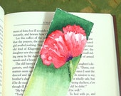Bookmark - Original Handpainted Watercolor Red Poppy