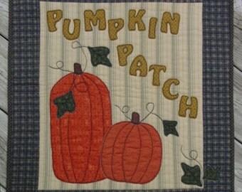 The Pumpkin Patch - Quilt Pattern