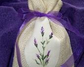 Burlap Lavender Sachet