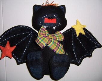 Halloween Bat Door Greeter | Halloween decor | Cute Halloween wall hanging | Bat Wall decor | Halloween Door hanging