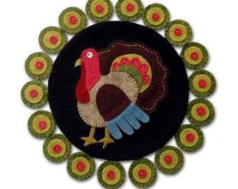 Turkey Lurkey Penny Rug Pattern