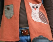 The Owl Is Abroad Upcycled Sweater