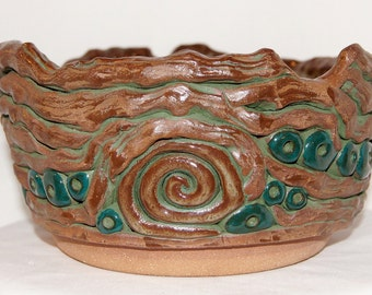 Coil of Roots Bowl