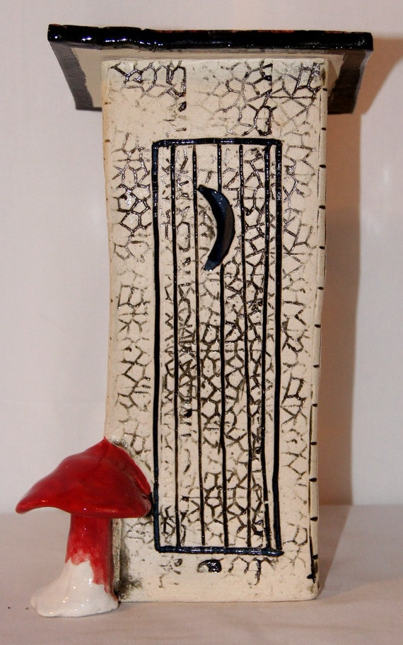 Outhouse Incense Holder