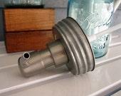 Soap Pump Ball / Mason Jar Lid ONLY
