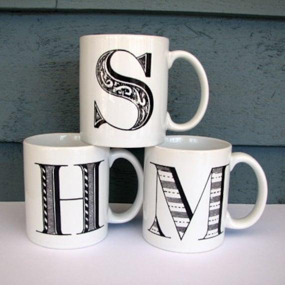 Alpha Mug Customize With Your Initial