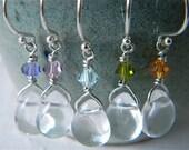 Earrings with custom color choice