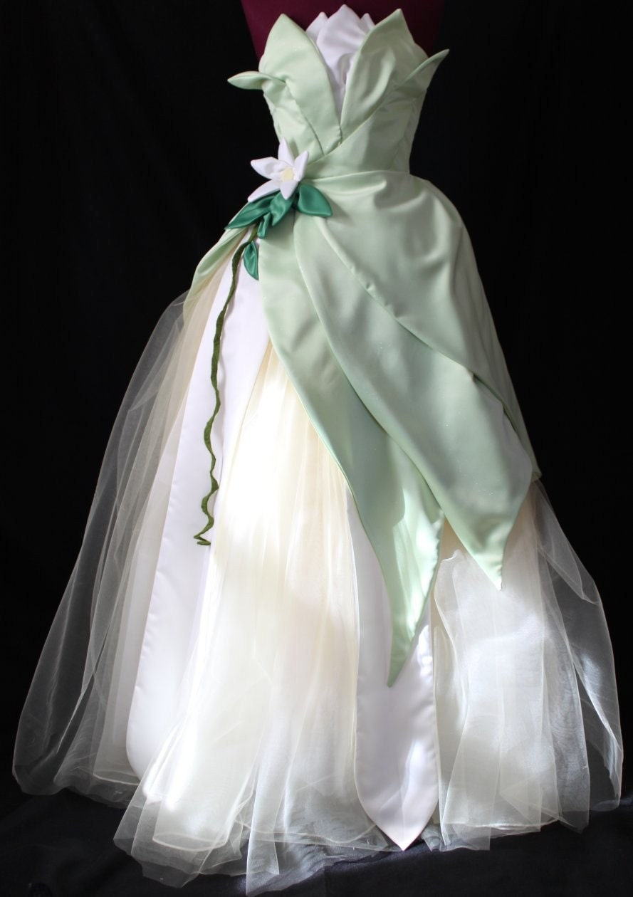 Princess tiana custom costume from the enchanted cradle - Costume princesse disney adulte ...