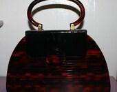 Vintage Tortoise shell Handbag