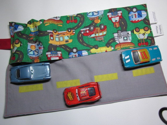 Matchbox Car Wallet and Road To Go