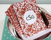 30 Paper Pockets for Small Packaging, Gift Bag, Mixed Reds