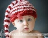 Striped Stocking Cap - MrsMay Original Pattern - PDF format - Baby Photographer Props
