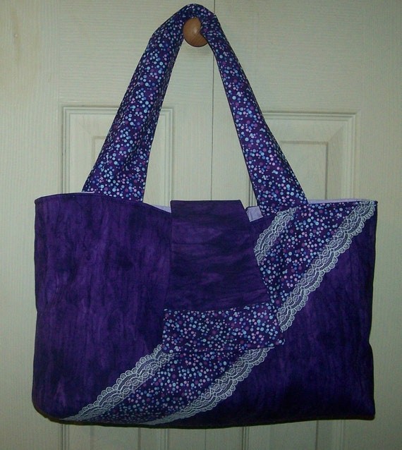 purple passion bag