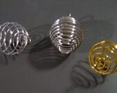 LARGE Wire Bead Cages ASSORTMENT (12)