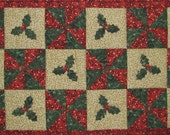 Holly Table Runner Pattern PDF Download