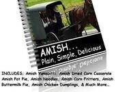 NEW - TOP 20 FAVORITE AMISH RECIPES COOKBOOK SAMPLER