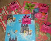 Vintage Christmas Wrapping Paper 4 Designs REDUCED