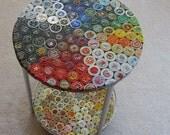 Double-Decker Bottle Cap Table