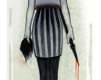 """Huntress - (11"""" x 17"""")"""
